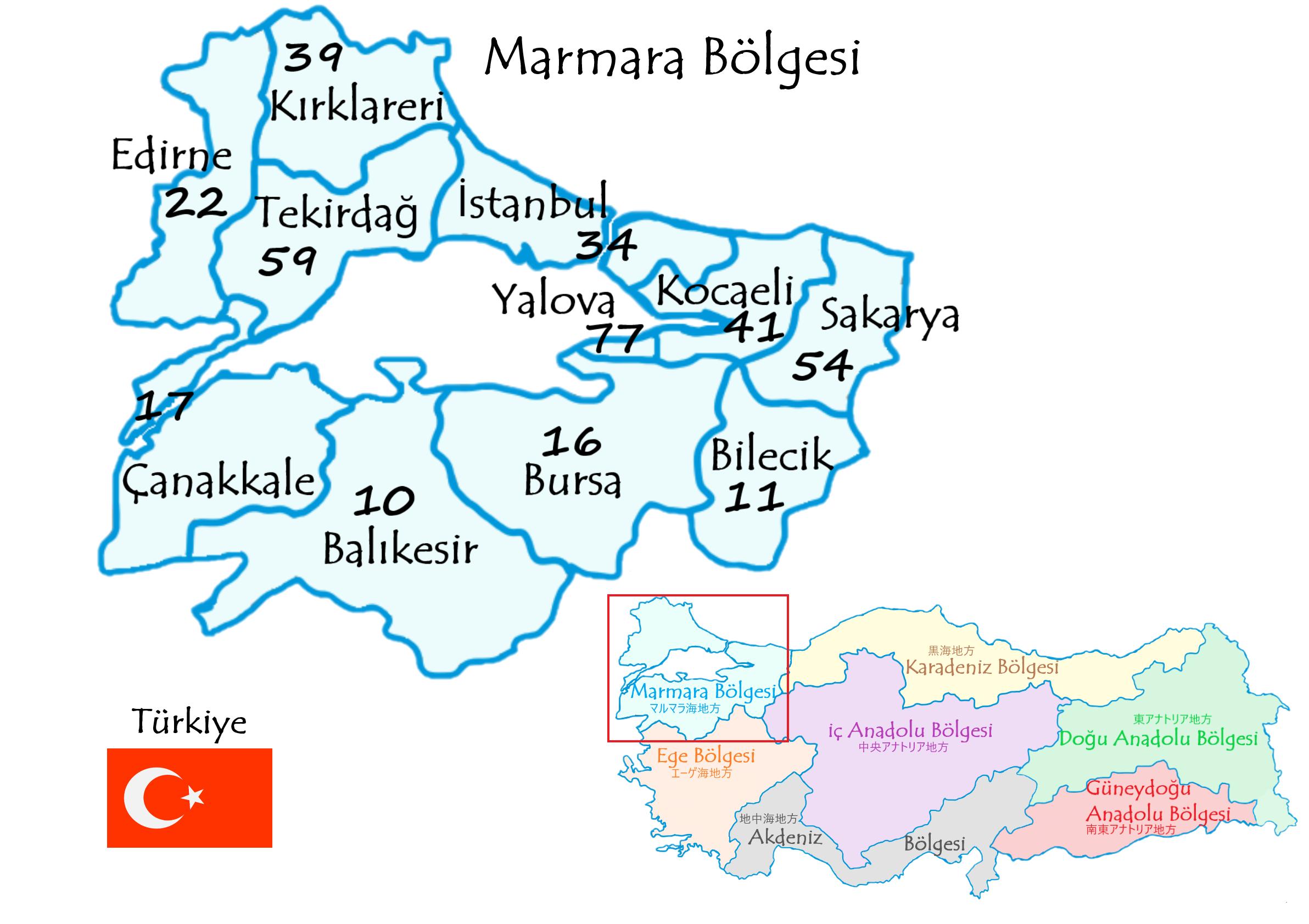 マルマラ地方