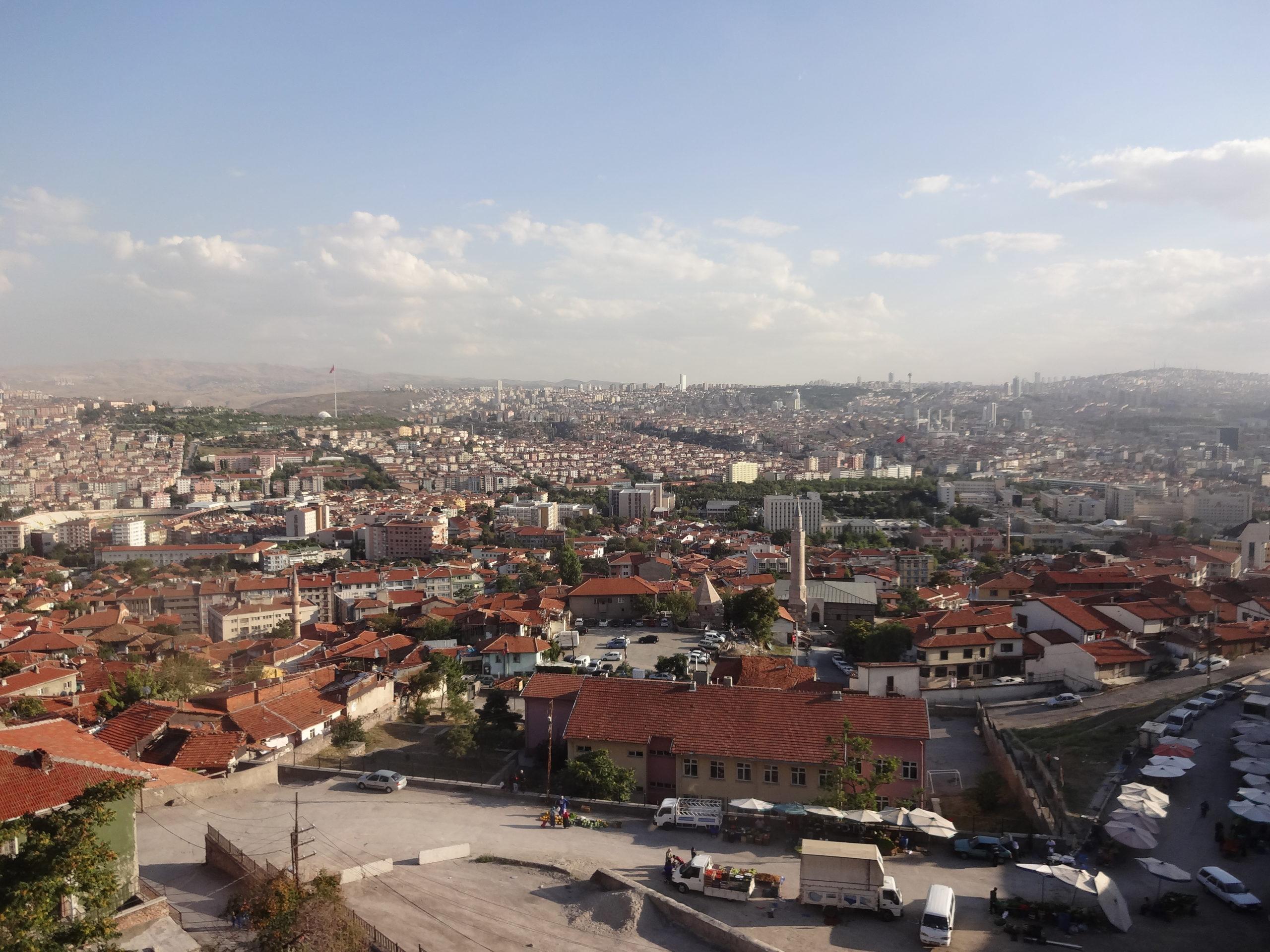 首都アンカラの景色