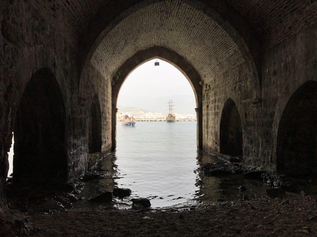 Tersane 造船所跡