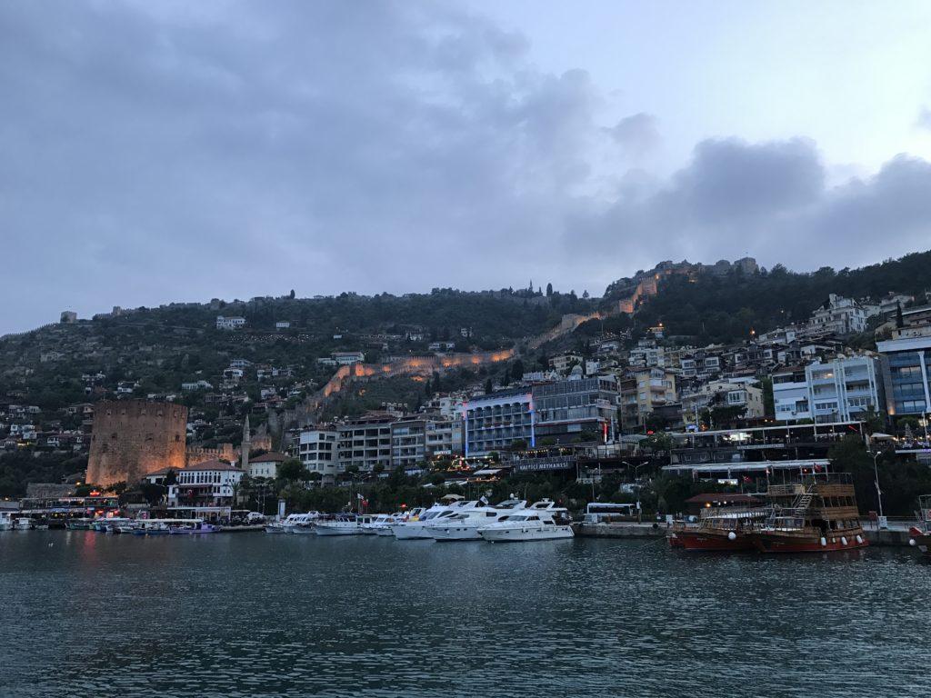 観光船からみた景色