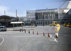 アンタルヤ空港 車窓から