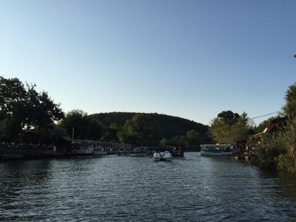 Ağvaの川