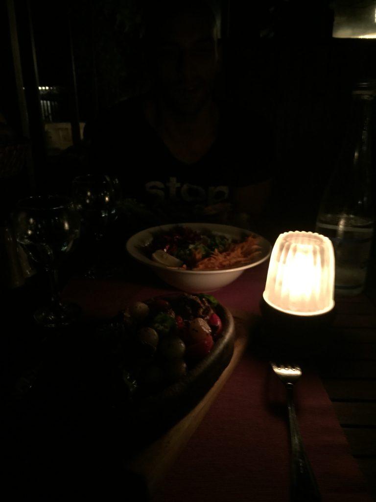 Ağva ホテルの夕飯