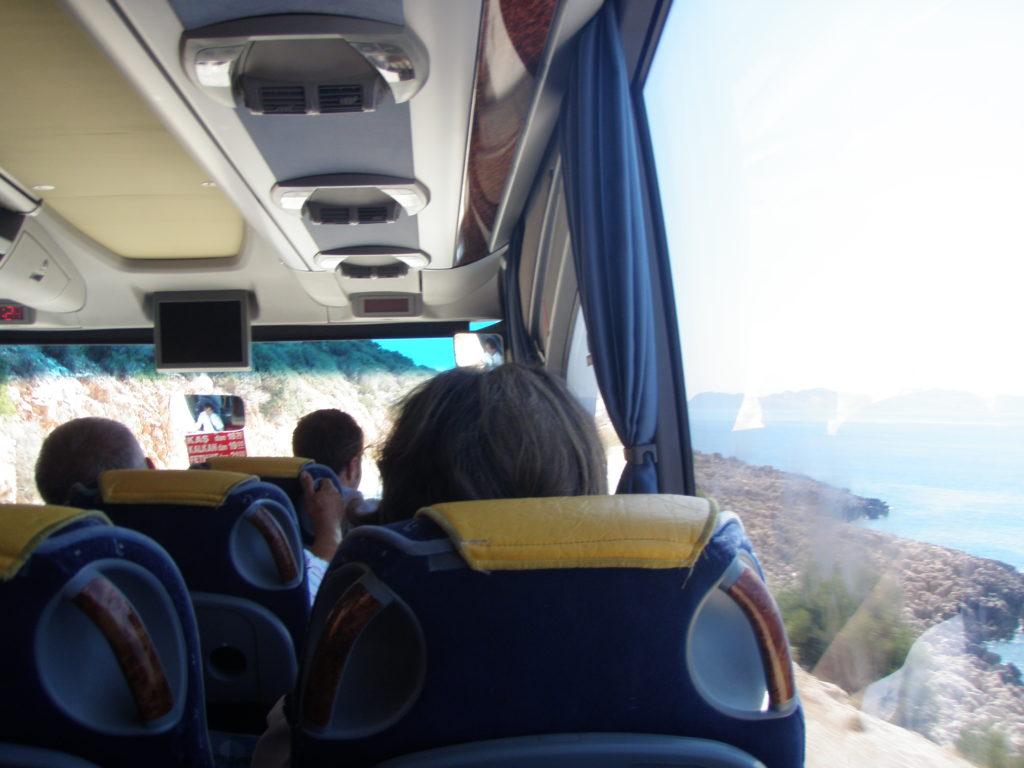 フェティエからカシュへの道
