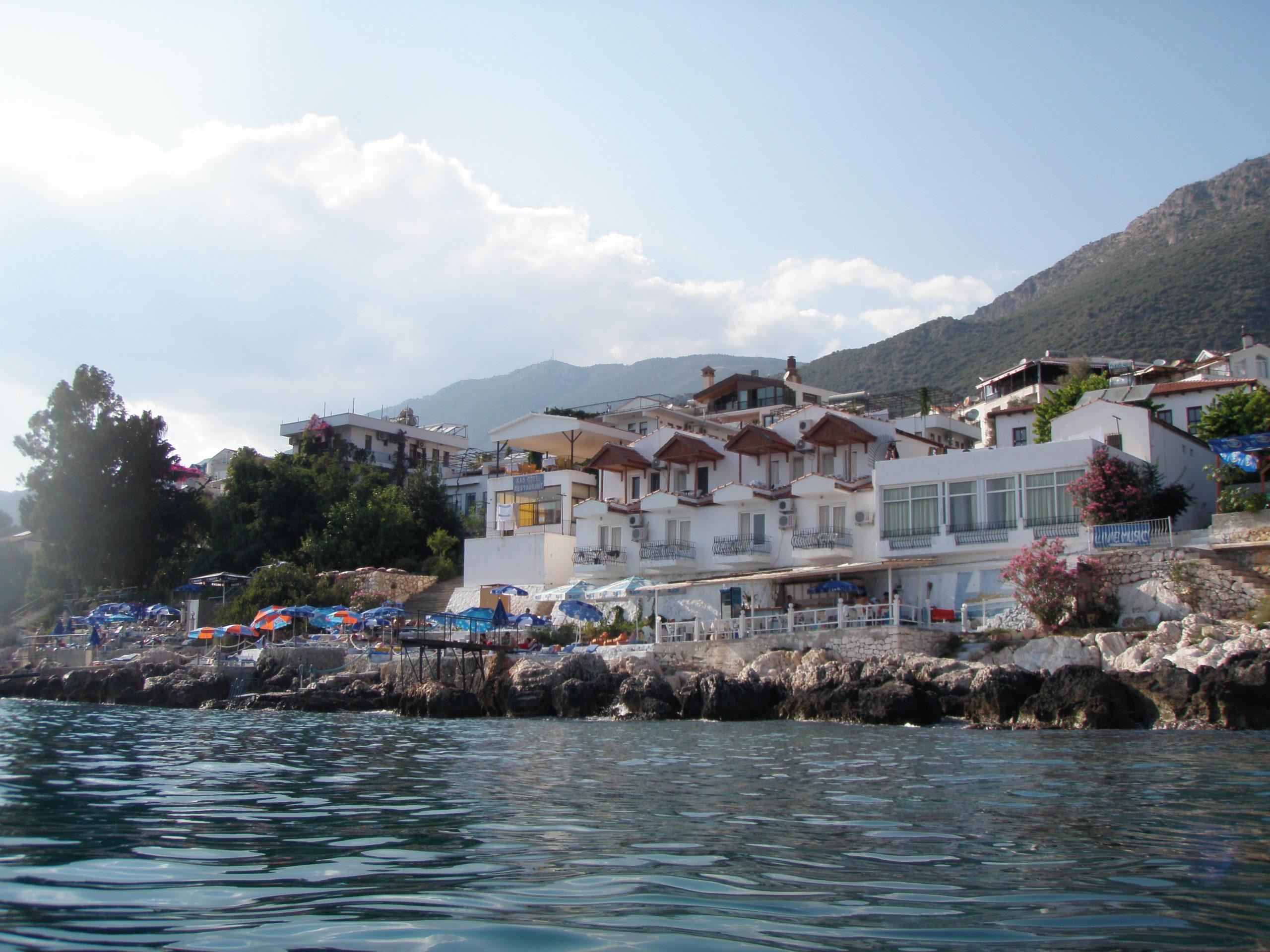 カシュKaşの海