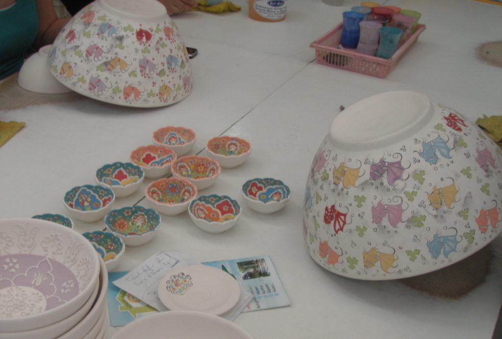 キュタフヤの陶器